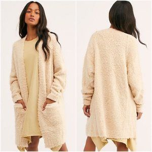 Free People Once In A Lifetime Cardigan Open Front